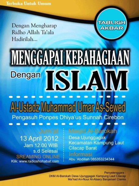 Menggapai Kebahagiaan Dengan Islam