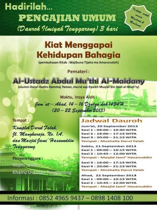 Ust abdul Mu'thi - Tenggarong